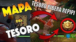 LOCALIZACION del MAPA del TESORO RIBERA REPIPI // CONSEGUIR MAPA DEL TESORO DE RIVERA REPIPI //