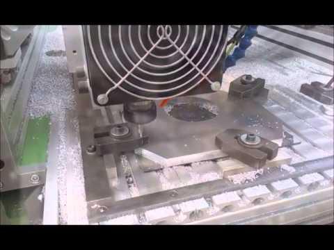 KMS CNC Fräsmaschine / KMS CNC Milling Machine