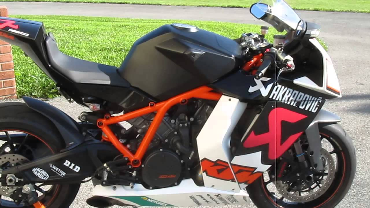 2010 ktm rc8r akrapovic #15 of 25 for sale - youtube