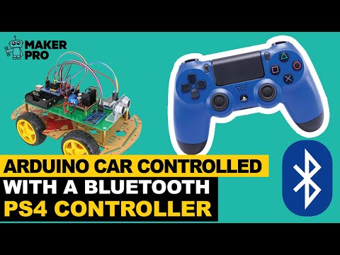 Arduino Car Controlled With a Bluetooth PS4 Controller
