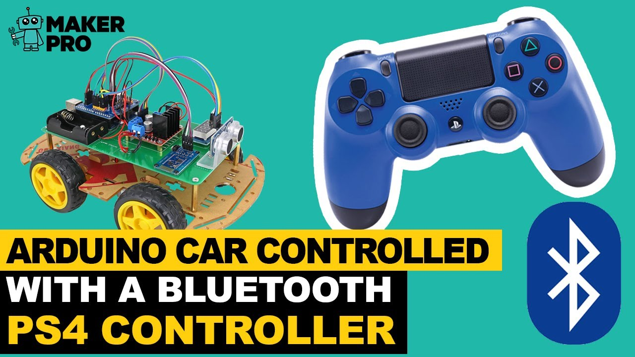 How to Control an Arduino Robot With a PS4 Bluetooth