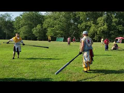 Polearm tournament at Siege of Imladris 2019