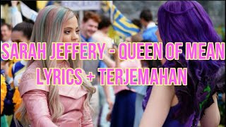 "Sarah Jeffery - Queen of Mean (From ""Descendants 3"") (Lyrics - Terjemahan Bahasa Indonesia)"