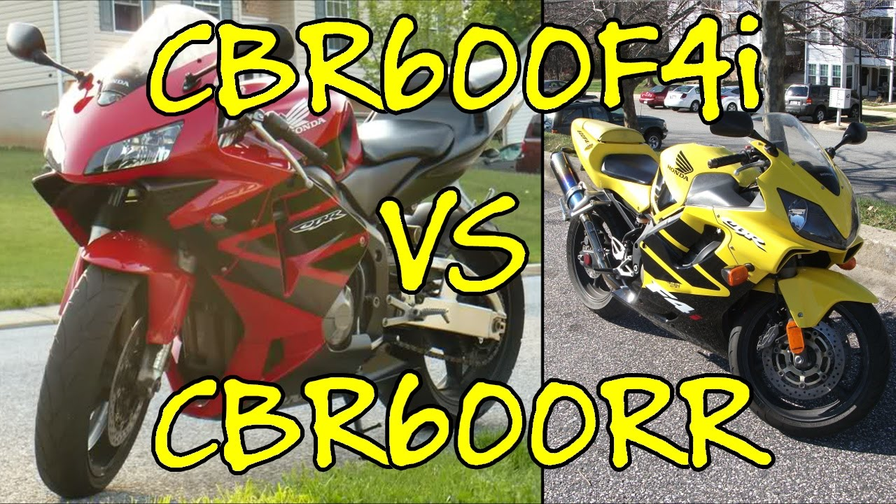 Going From A Cbr600rr To A Cbr600f4i Youtube