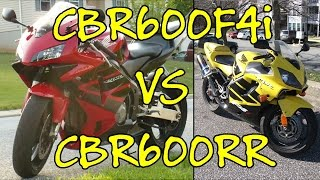 Going From A CBR600RR To A CBR600F4i