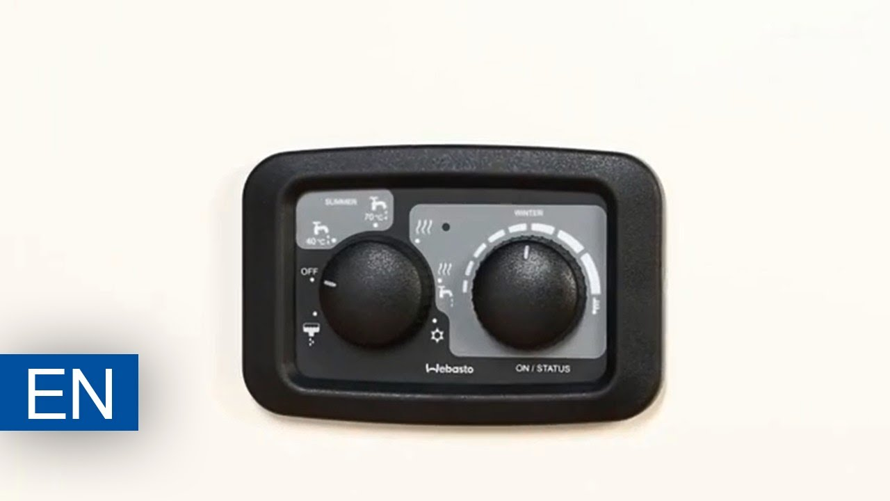 webasto dual top evo manuel control panel youtube. Black Bedroom Furniture Sets. Home Design Ideas