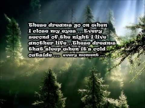 Heart ♥ ~ THESE DREAMS ~ ♥ Lyrics