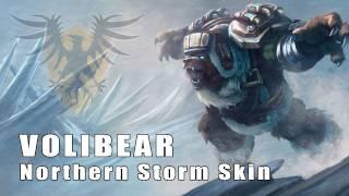 League of Legends: Northern Storm Volibear Skin Artwork