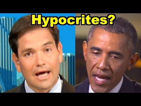 Barack Obama or Marco Rubio Bigger Hypocrite on Immigration Politics?