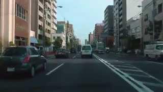 [drive japan]三ツ目通り スカイツリー周辺-東京都江東区辰巳(Skytree-Tatsumi)
