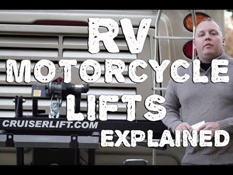 Cruiserlift - RV Motorcycle Lift Walkthrough