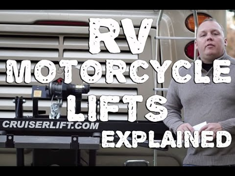 Cruiserlift - RV Motorcycle Lift Walkthrough