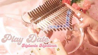 Melanie Martinez - Play Date   Kalimba Cover with Tabs ♡ Resimi