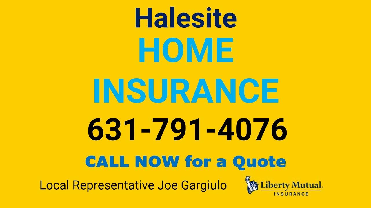 Halesite Home Insurance 631-791-4076 - YouTube