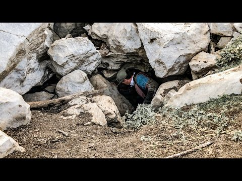 Drought Reveals Massive HIDDEN Cave!!