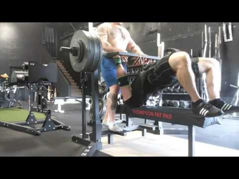 Benching with James Strickland - Swiss Bar