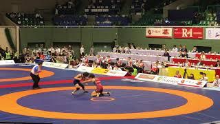 明治杯 57kg級 坂上嘉津季(ALSOK)vs南條早映(至学館大学)