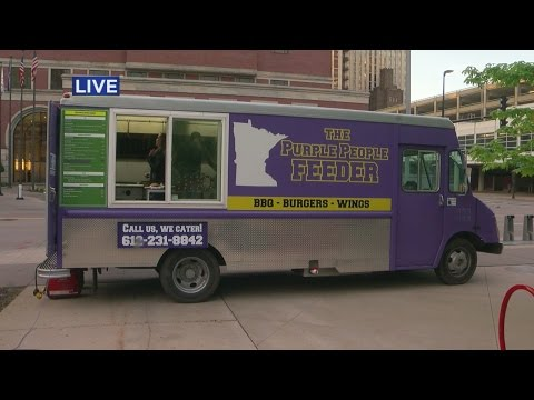 Food Truck Wednesday: The Purple People Feeder