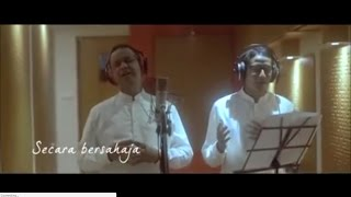 Video Anies-Sandi Duet Rekaman Lagu 'Rindu Rasul' download MP3, 3GP, MP4, WEBM, AVI, FLV Oktober 2017