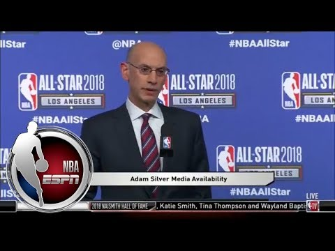 Adam Silver: I was proud of LeBron James