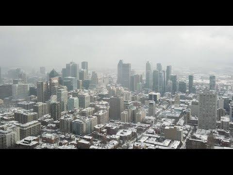 Montreal, Canada from a Drone (#DJI Mavic)