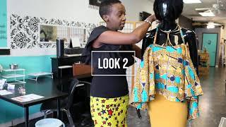How to wear aฑ Ankara/Kitenge/African Print Strap top 4 ways