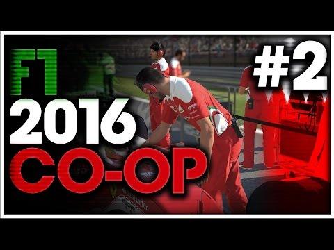 F1 2016 Co Op Career Part 2: NO MAX!!!