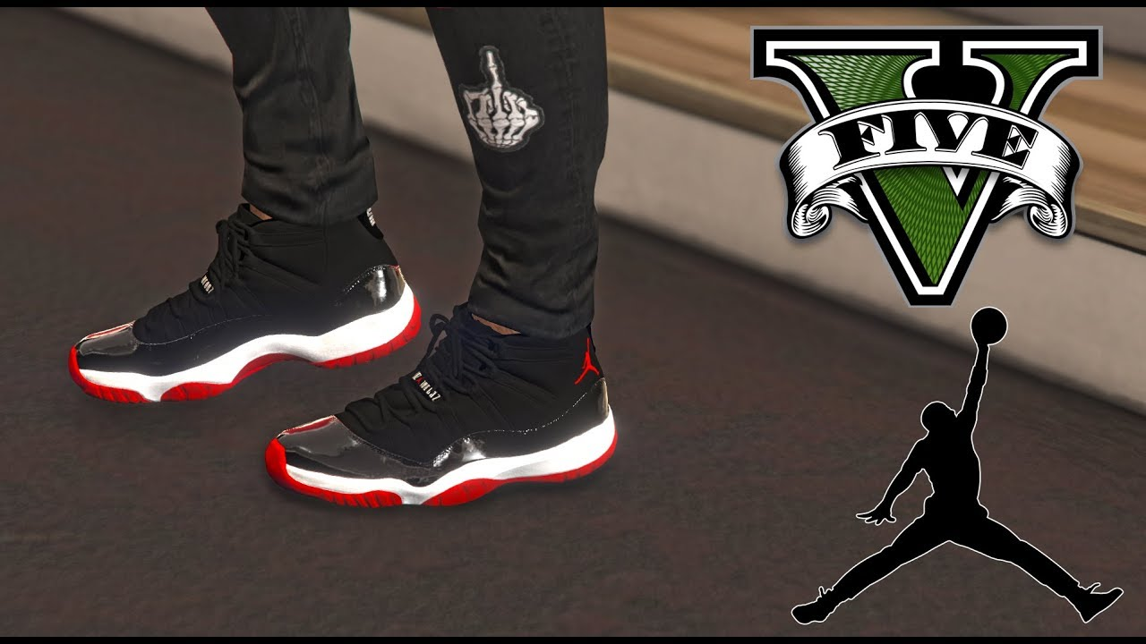 GRAND THEFT AUTO V | AIR JORDAN 11 MOD. GTA BMORE