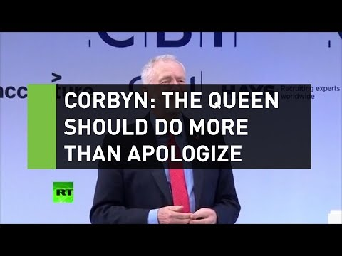 Corbyn: The Queen should do more than just apologize