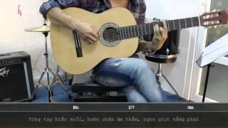 Dạy Học Guitar] [Đệm Hát] [Điệu Boston]   Riêng Một Góc Trời   Ngô Thụy Miên