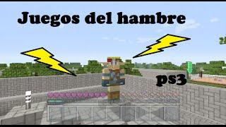 Juegos del hambre minecraft ps3 - un capero camperoso
