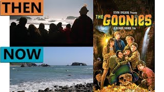 The Goonies Filming Locations | Then & Now 1985 Astoria & Cannon Beach Oregon Reshoot