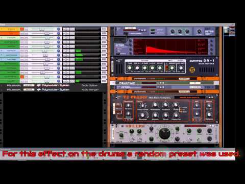 Reason 8.0 In Dub Video 3: Delayerings and Reverberations
