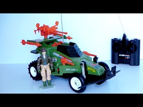1987 Crossfire & Rumbler (Radio Control Vehicle) G.I. Joe review