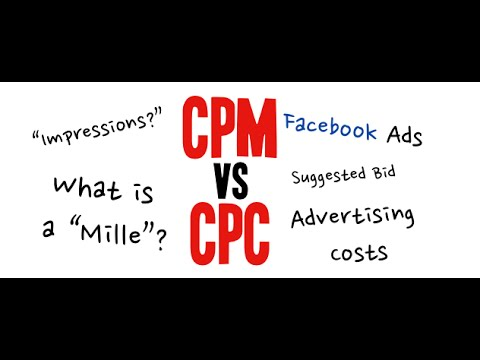 CPM vs CPC Facebook | What Is The Best Option For You - Tutorial Step By Step