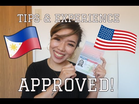My U.S Tourist Visa Application Experience | TAGALOG