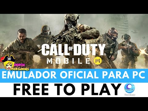 CALL OF DUTY MOBILE EN PC | Gameloop OFICIAL Free To Play