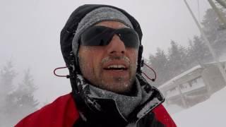 pescocostanzo nevicata record gennaio 2017 gopro hero 5 e panasonic a1 night vision mode