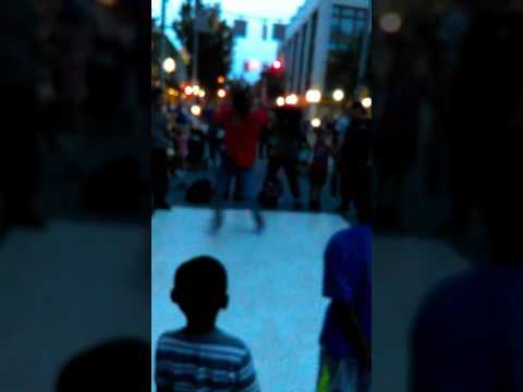 Street dancing in York Pennsylvania