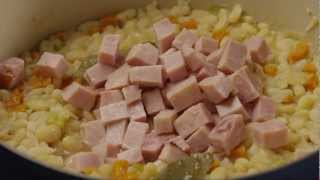 How to Make Ham and Bean Soup