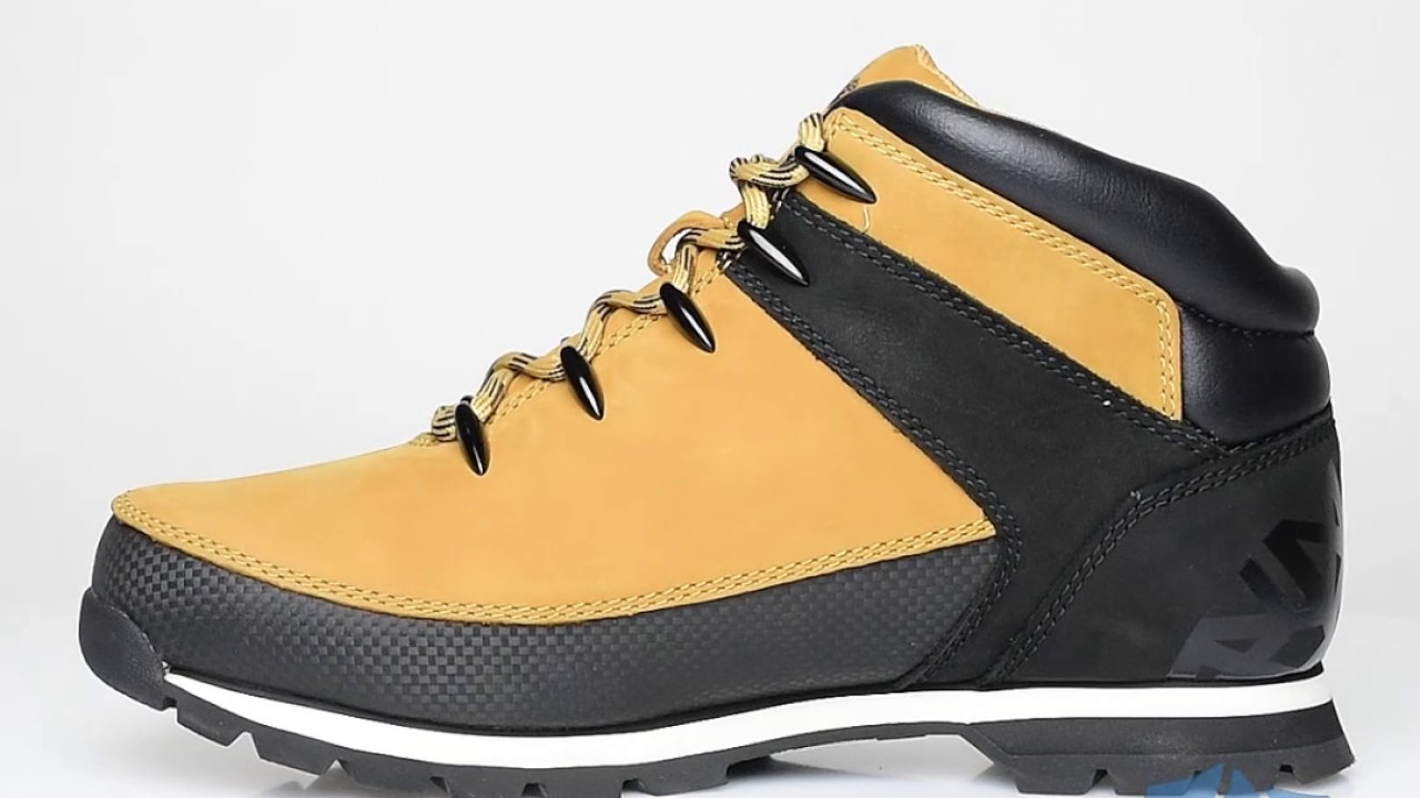 be852cd49f389a Timberland Euro Sprint Hiker Mid Boot Men - Sportizmo - YouTube