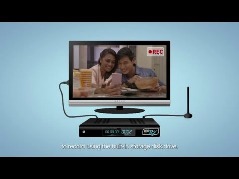 Digital TV Instructional Video (English)