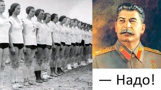 — Надо! Товарища Сталина