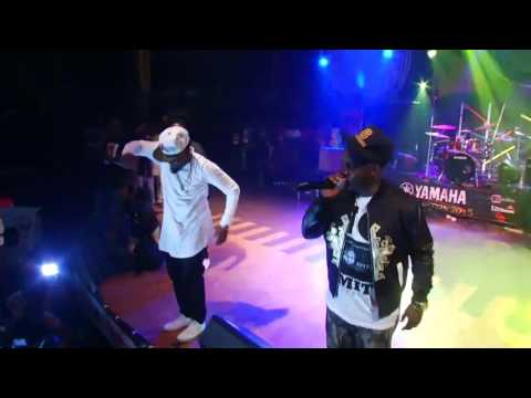 """MI, Ice Prince And Jesse Jags Performs At Felabration 2015 """"Just Like That"""""""