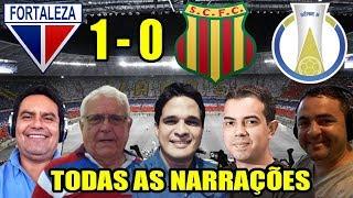 Todas as narrações - Fortaleza 1 x 0 Sampaio Corrêa / Brasileirão Série B 2018