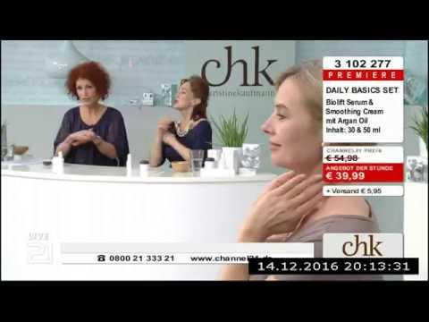 Christine Kaufmann bei Channel21 am 14.12.2016 - Teil 3