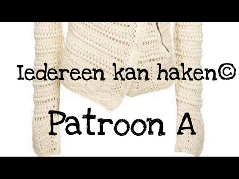 Iedereen Kan Haken Patroon A Jasje Leren Haken Nederlands Voor
