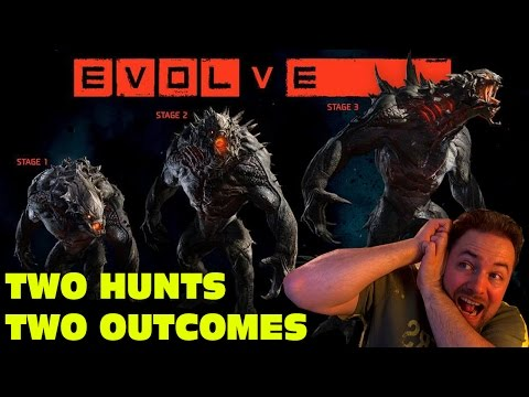 EVOLVE GAMEPLAY  HAPPY HALLOWEEN!  Two Matches, Two Outcomes!