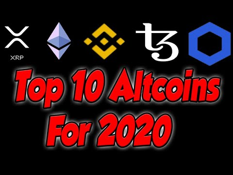 Top 5 Altcoins For 2020(MASSIVE PROFIT)