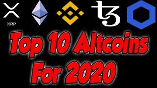 Top 5 Altcoins for 2020(MASSIVE PROFIT)